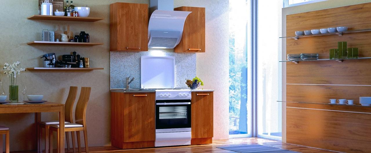 Купить Кухня Ольха 1 м в интернет магазине корпусной и мягкой мебели для дома и дачи