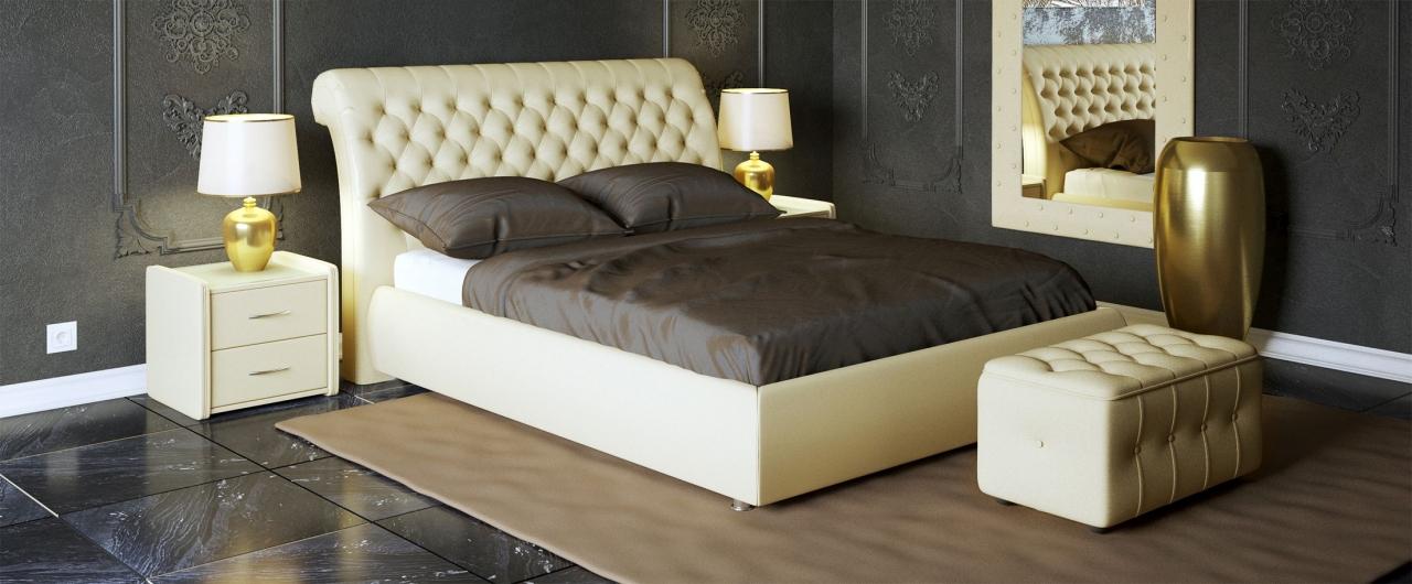 Кровать двуспальная Эрмитаж Модель 587