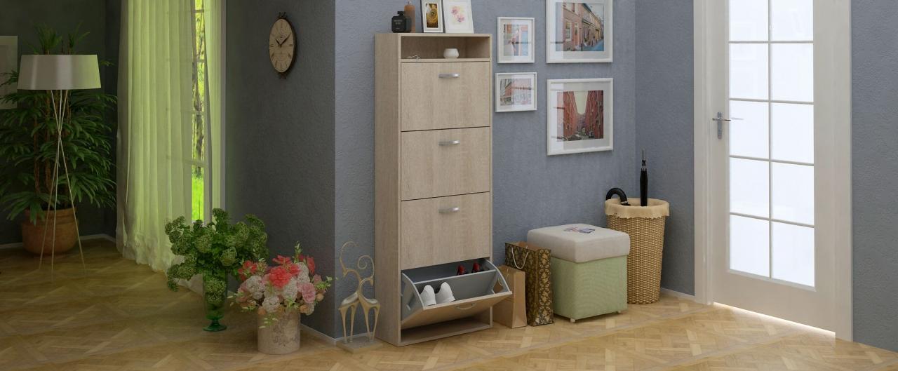 Купить Обувница Милан 27 Модель 819 в интернет магазине корпусной и мягкой мебели для дома и дачи