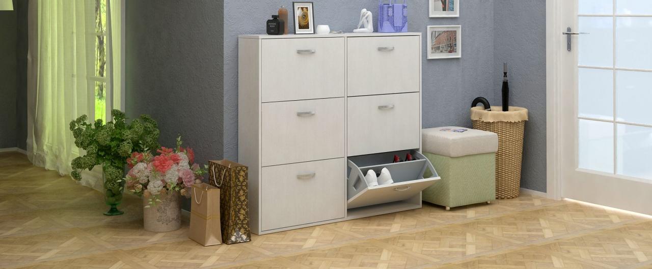 Купить Обувница Милан 30 Модель 822 в интернет магазине корпусной и мягкой мебели для дома и дачи