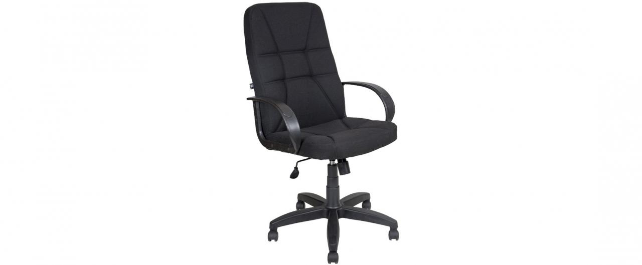 Купить Кресло офисное AV 114 тканевое черное Модель 999 в интернет магазине корпусной и мягкой мебели для дома и дачи