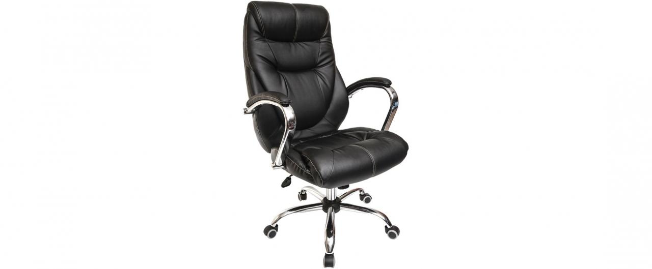 Кресло офисное AV 116 из экокожи цвет черный Модель 999Кресло офисное AV 116 из экокожи цвет черный Модель 999. Артикул Д000691<br>