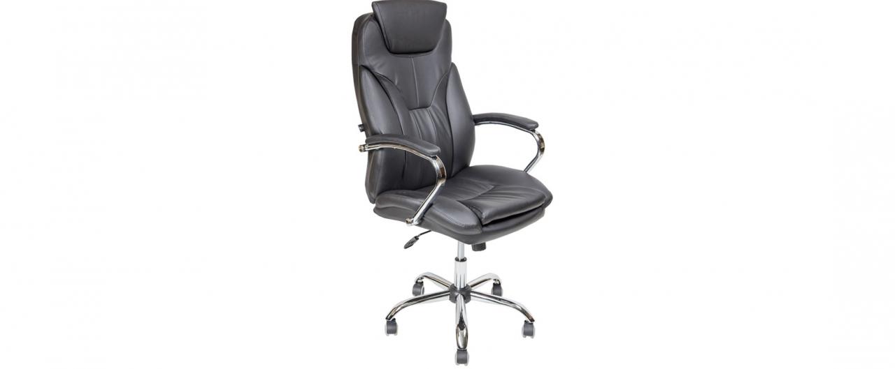 Купить Кресло офисное AV 117 из экокожи цвет черный Модель 999 в интернет магазине корпусной и мягкой мебели для дома и дачи