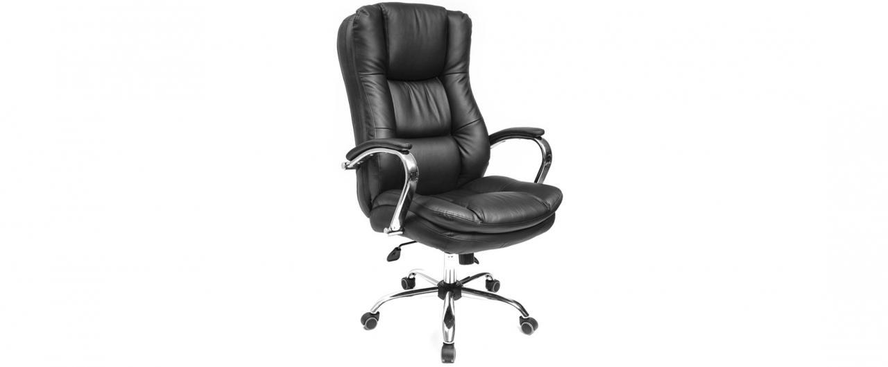 Кресло офисное AV 123 из экокожи цвет черный Модель 999Кресло офисное AV 123 из экокожи цвет черный Модель 999. Артикул Д000712<br>