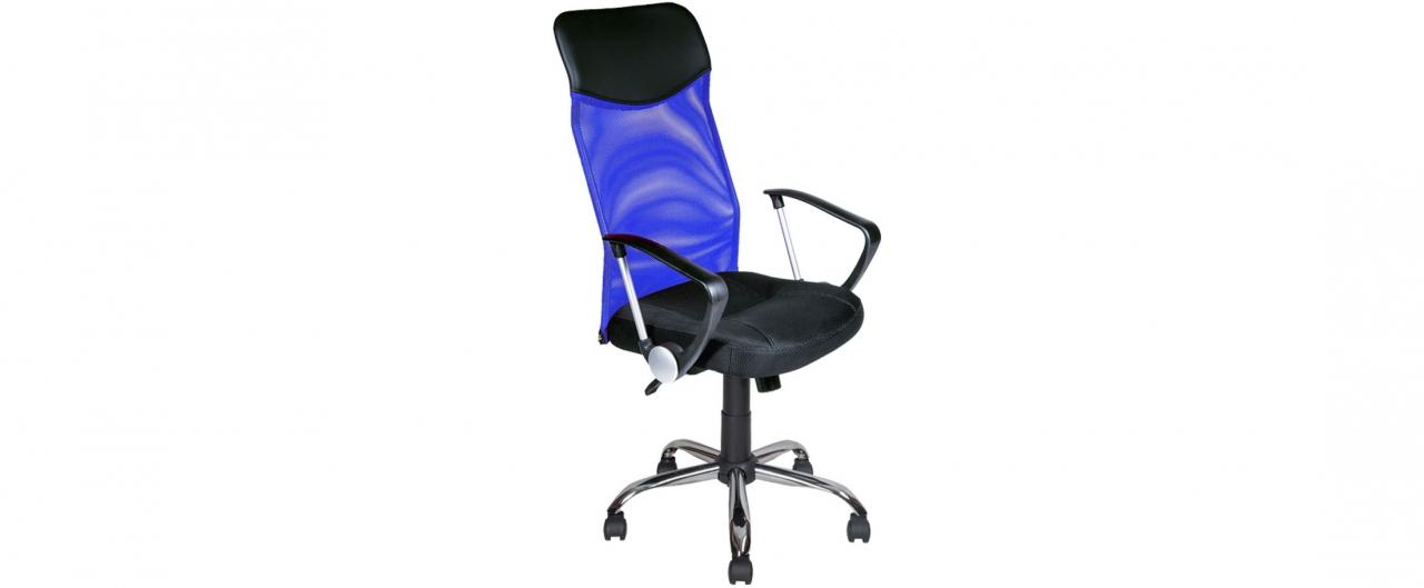Купить Кресло офисное AV 128 цвет синий Модель 999 в интернет магазине корпусной и мягкой мебели для дома и дачи