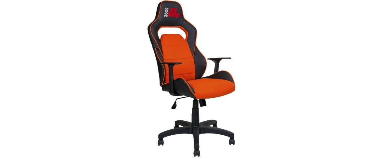 Купить Кресло офисное AV 140 цвет черный/оранжевый Модель 999 в интернет магазине корпусной и мягкой мебели для дома и дачи