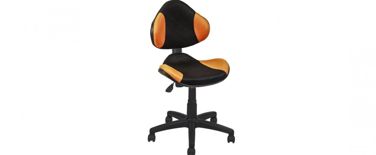 Купить Кресло офисное AV 215 цвет оранжевый/черный Модель 999 в интернет магазине корпусной и мягкой мебели для дома и дачи