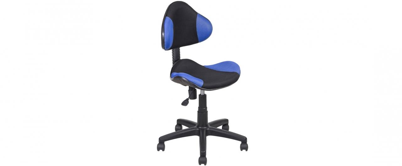 Купить Кресло офисное AV 215 цвет синий/черный Модель 999 в интернет магазине корпусной и мягкой мебели для дома и дачи
