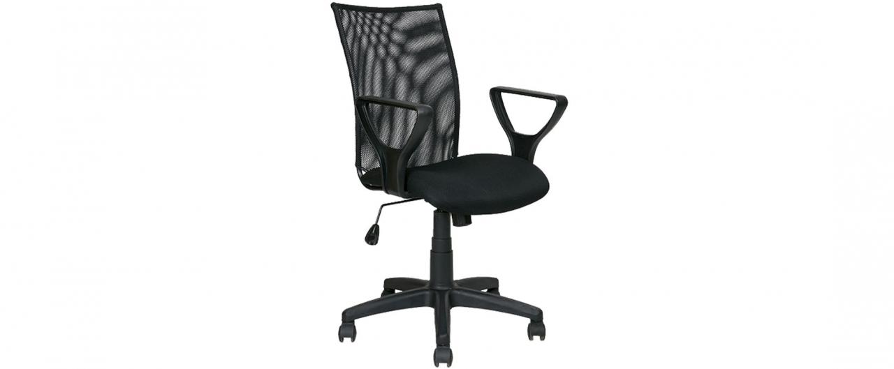 Кресло офисное AV 216 цвет черный Модель 999Кресло офисное AV 216 цвет черный Модель 999. Артикул Д000744<br>