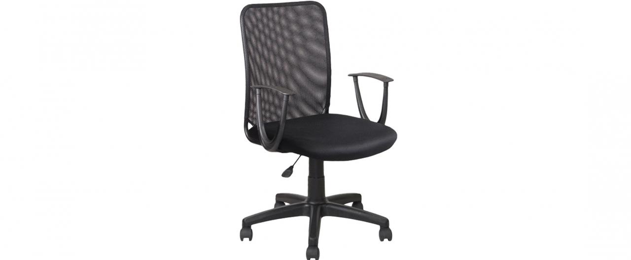 Купить Кресло офисное AV 220 сетка черная Модель 999 в интернет магазине корпусной и мягкой мебели для дома и дачи