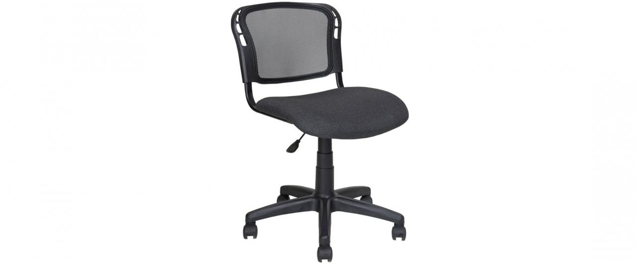 Купить Кресло офисное AV 221 черный с серой ниткой Модель 999 в интернет магазине корпусной и мягкой мебели для дома и дачи