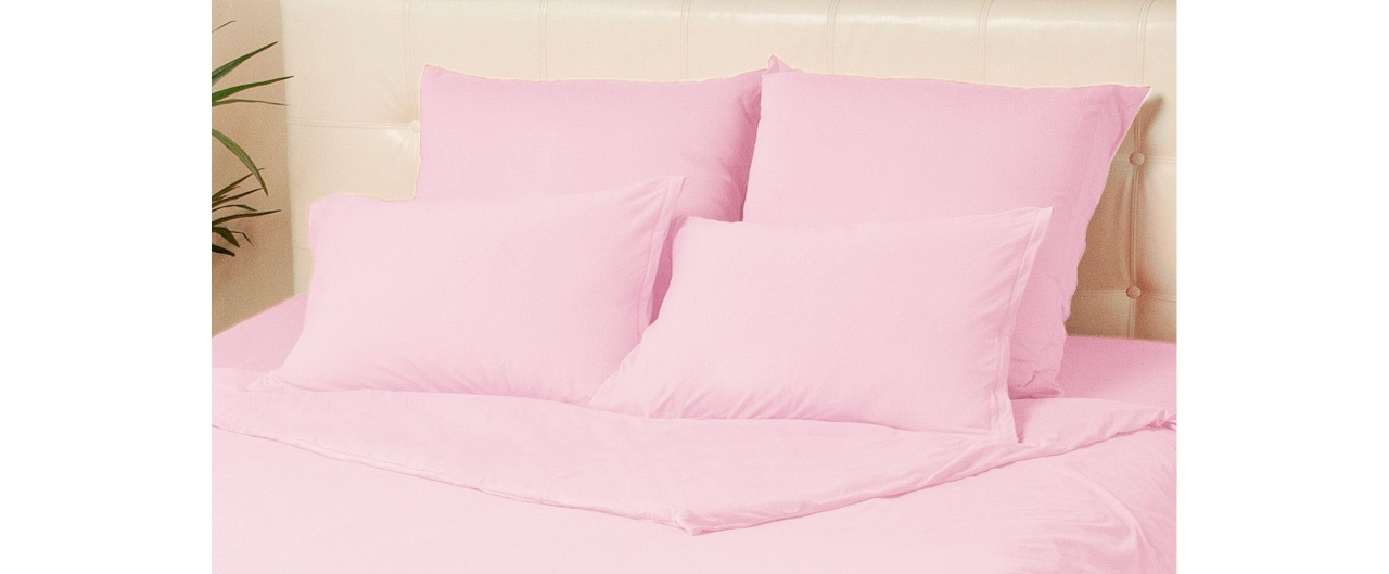 Комплект наволочек на молнии 50х70 розового цвета Violett Модель 4002Комплект наволочек на молнии 50х70 розового цвета Violett Модель 4002. Артикул К000704<br>