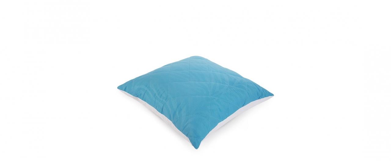 Подушка «Для тебя» 68х68 голубого цвета Модель 4004