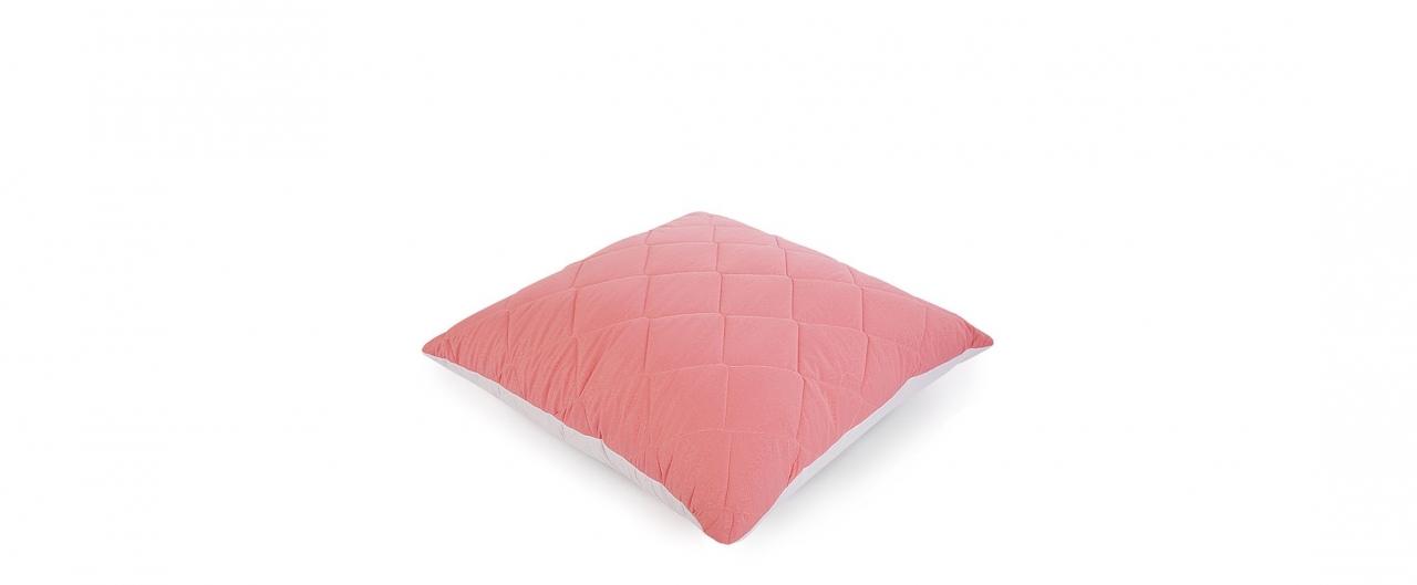 Подушка «Для тебя» 68х68 розового цвета Модель 4004