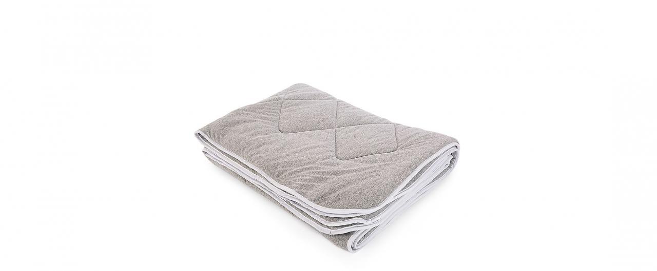 Одеяло трикотажное Бамбук серый меланж 172х205 Модель 4006Одеяло трикотажное Бамбук серый меланж 172х205 Модель 4006. Артикул К000755<br>