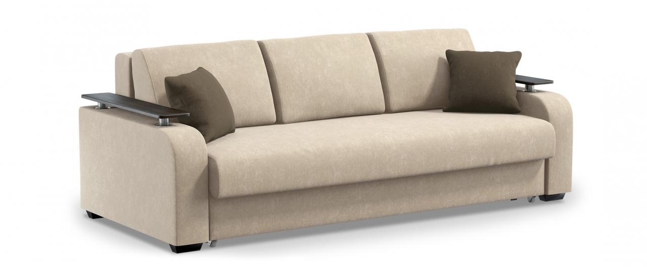 Диван прямой еврокнижка Марракеш 044Гостевой вариант и полноценное спальное место. Размеры 237х108х88 см. Купить бежевый диван еврокнижка в интернет-магазине MOON TRADE.<br>