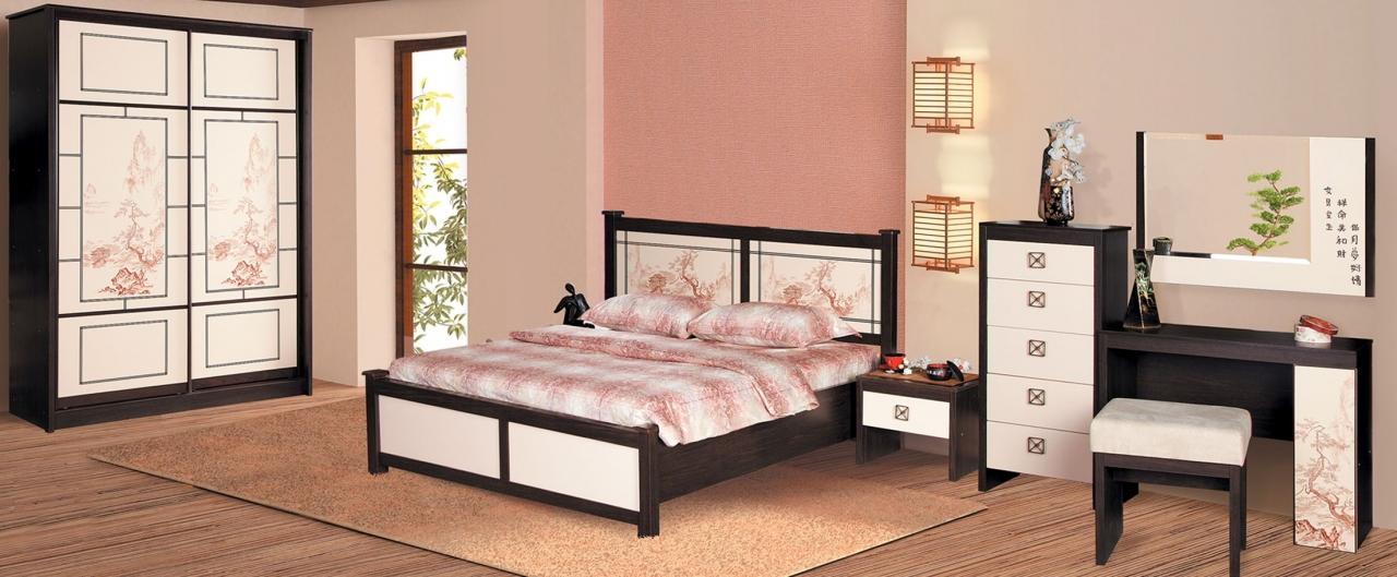 Спальня Киото Модель 904Минимальный набор из самого необходимого. Цвет крем. Гарантия 18 месяцев. Доставка от 1 дня.<br>