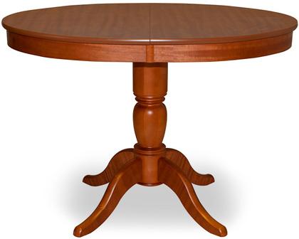 Стол Фламинго 6 Вишня Модель 370Ножки стола из массива дерева, столешница из шпона МДФ. Не образует трещин, идеально сохраняет компактную круглую форму. Гарантия 18 месяцев. Доставка от 1 дня.<br>