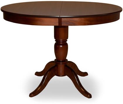 Стол Фламинго 6 Тёмный орех Модель 370Ножки стола из массива дерева, столешница из шпона МДФ. Не образует трещин, идеально сохраняет компактную круглую форму. Гарантия 18 месяцев. Доставка от 1 дня.<br>