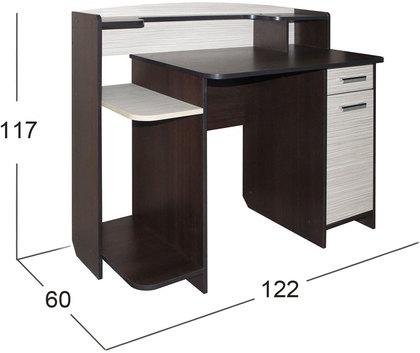 Стол компьютерный Престиж-10 Модель 506 - купить в Москве в интернет ... a821042e8ea