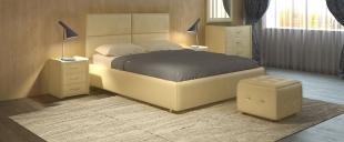 Кровать двуспальная Риальто Модель 582Великолепное изящество моста Риальто в Венеции удачно воплотилось в элегантной кровати Риальто. Благодаря простоте линий и светлым цветовым решениям, эта кровать зрительно увеличит спальню, создавая легкую и приятную атмосферу спокойствия.<br>