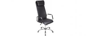 Кресло офисное AV 131 из экокожи цвет черный Модель 999Кресло офисное AV 131 из экокожи цвет черный Модель 999. Артикул Д000723<br>