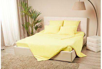Пододеяльник трикотажный на молнии 200х220 желтого цвета Violett Модель 4001Пододеяльник трикотажный на молнии 200х220  Violett Модель 4001. Артикул К000660<br>
