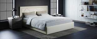 Кровать двуспальная Доменика 160х200 Модель 1203Модель Доменика придаст комнате индивидуальность сделает вашу спальню особенной.<br>